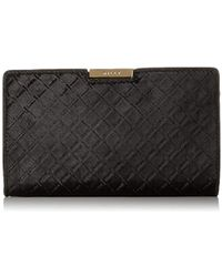 MILLY - Diamond Haircalf Sm Frame Clutch - Lyst