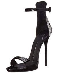 Giuseppe Zanotti - Jeweled Ankle Strap Dress Sandal - Lyst