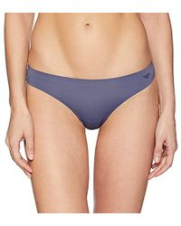 Emporio Armani - Second Skin Thong - Lyst