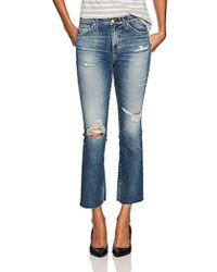 AG Jeans - Jodi Crop Jean, - Lyst