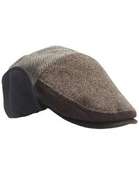 Dockers - Ivy Newsboy Hat With Earflaps - Lyst