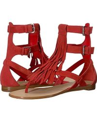 Guess - Bari Flat Sandal - Lyst