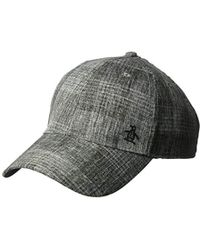 Original Penguin - Textured Baseball Cap - Lyst