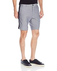 Kenneth Cole Reaction - Chmbray Frnt Short - Lyst
