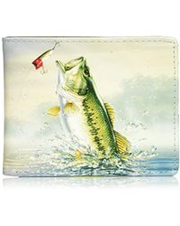Buxton - Wildlife Throwing The Lure Slimfold Wallet - Lyst