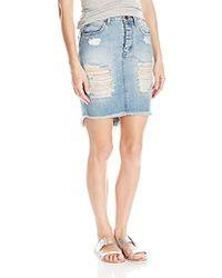 One Teaspoon - Blue Jack 2020 Denim Skirt - Lyst