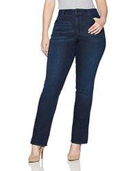 NYDJ - Rachel Rolled Cuff Ankle Jeans In Denim Marrakesh Wash - Lyst
