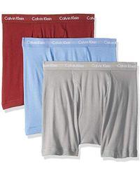 Calvin Klein - Cotton Classics Multipack Boxer Briefs - Lyst