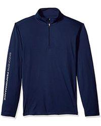 Skechers - Golf Go Dri Ultra Upf 50 Long Sleeve 1/4 Zip Pullover,blue Iris,m - Lyst