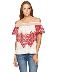 Plenty by Tracy Reese - Embroidered Top - Lyst