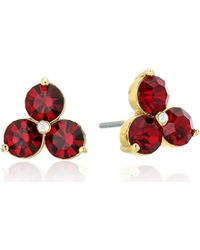 Kate Spade - Flying Colors Trio Stud Earrings - Lyst