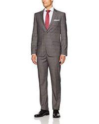 Ben Sherman - Two Button Slim Fit Check Suit - Lyst