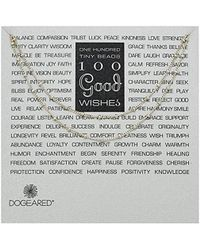 "Dogeared - 100 Wishes Chain Necklace, Sterling Silver, 36"" - Lyst"