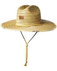 Roxy - Tomboy Straw Hat - Lyst