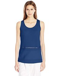 French Connection - Polly Plains Sleeveless Top - Lyst