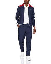 Lacoste - Sport Colored Bands Taffeta Tennis Tracksuit - Lyst