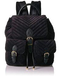 Juicy Couture - Fairmont Fairytale Velour Buckle Backpack - Lyst 4b48a67e55