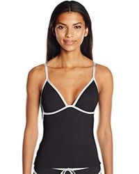 22137c83a2 Kenneth Cole Reaction - On The Edge Push Up Tankini - Lyst