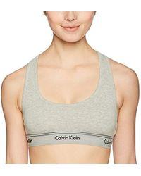 Calvin Klein - Heritage Athletic Unlined Bralette - Lyst