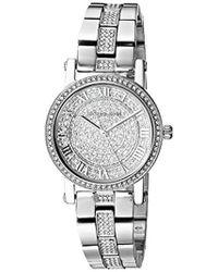 ee6b430ca772 Lyst - Michael Kors Petite Norie Mother Of Pearl Dial Ladies Watch ...