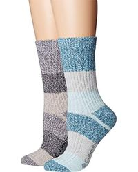Columbia - Micropoly Striped 2 Pack Crew - Lyst