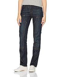 Carhartt - Slim Fit Layton Double Front Straight Leg Jean - Lyst