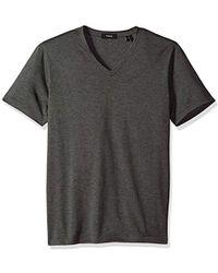 Theory - Claey V Plaito Dressy V Neck T Shirt - Lyst