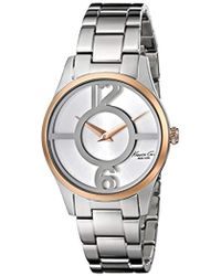 "Kenneth Cole - 10019637 ""classic"" Stainless Steel Two-tone Watch (amazon Exclusive) - Lyst"