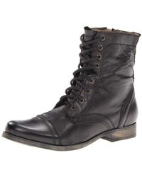 Steve Madden - Troopah Lace-up Boot - Lyst