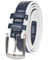 Nautica Casual Belt - Blue