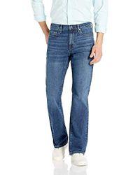 Essentials Mens Slim-fit Stretch Bootcut Jean