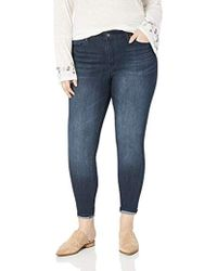 d80bda1ab54a2 Lyst - Jessica Simpson Adored Curvy High-rise Skinny-fit Ankle Jeans ...