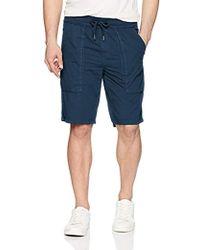 Calvin Klein - Cargo Poplin Utility Shorts - Lyst