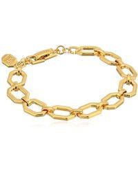 Ivanka Trump - Classics Gold-tone Chain Flex Bracelet, 0 - Lyst