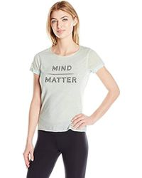 Steve Madden - Mind Over Matter Relaxed Rolled Sleeve Graphic Tee - Lyst