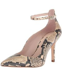 Nine West - Marquisa Reptile Print Pump - Lyst