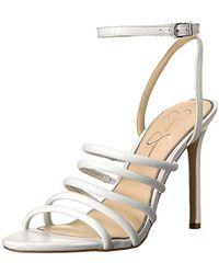 a44c28a44cf Lyst - MICHAEL Michael Kors Open Toe Sandals - Joselle Logo High ...