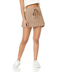 PUMA - Fenty Embroidered Edge Mini Skirt - Lyst