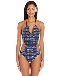 Sperry Top-Sider - Antigua Road High Neck Monokini One Piece Swimsuit - Lyst