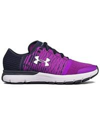 Under Armour - Women s Ua Speedform® Gemini 3 Graphic Running Shoes - Lyst 9bbfda777