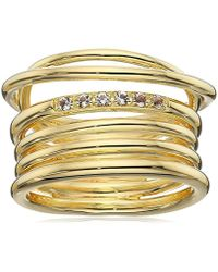 Elizabeth and James - Signature Roxy Ring - Lyst