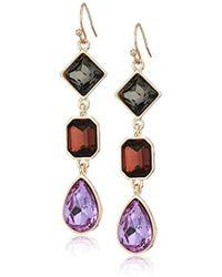 T Tahari - Fh Drop Earrings - Lyst