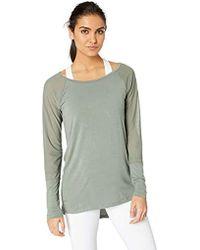 4681bf2f294 Danskin R&r Crisscross Tunic Dress in Gray - Save 7% - Lyst