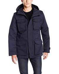 Vince Camuto - Water Resistant Cotton Field Jacket - Lyst