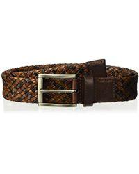 Tommy Bahama - Leather Braid Belt - Lyst