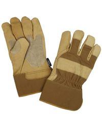 Carhartt - Insulated Grain Leather Work Glove With Safety Cuff - Lyst