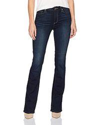 PAIGE High Rise Manhattan Boot Jean