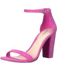 5645b0a4bd6 Lyst - ALDO Myly Heeled Sandal in Black