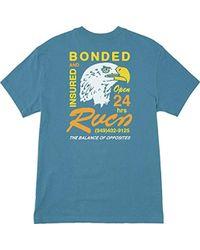 RVCA - Bonded Short Sleeve T-shirt - Lyst