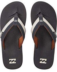 Billabong - All Day Impact Supreme Cushion Eva Footbed Sandal Flip Flop - Lyst